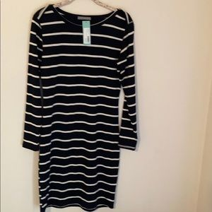 Loveappell Navy and White dress